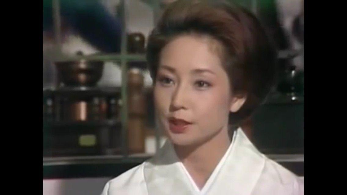 黒革の手帖 昭和 山本陽子 美しい人 女優