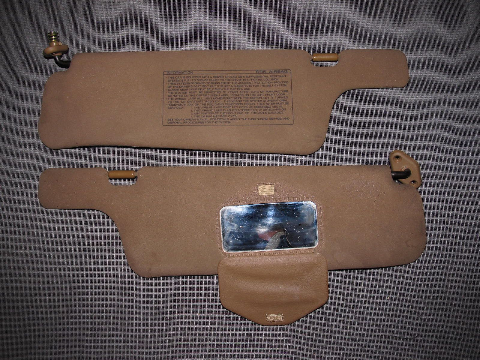 90 91 92 93 94 95 96 Nissan 300zx Oem Interior Fuse Box Detailed Sun Visor 1991 Chevy S10 Wiring Diagram Set Autopartone