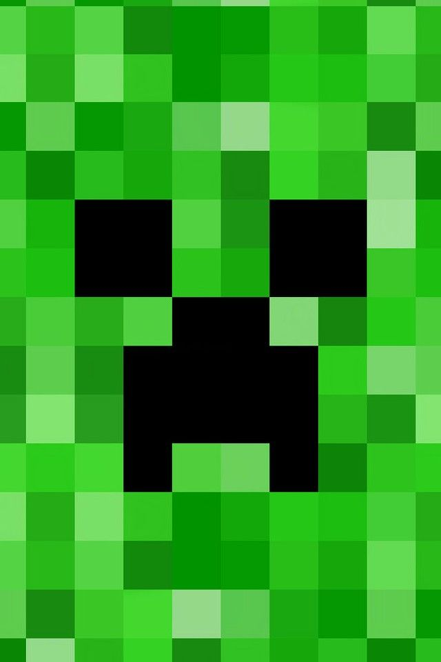 Minecraft Creeper Wallpaper Funny Pinterest Creepers