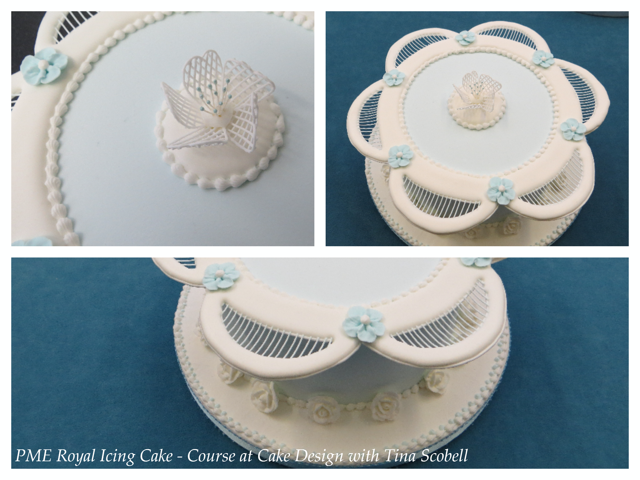 Pme Royal Icing Cake From Course At Cake Designs With Tina