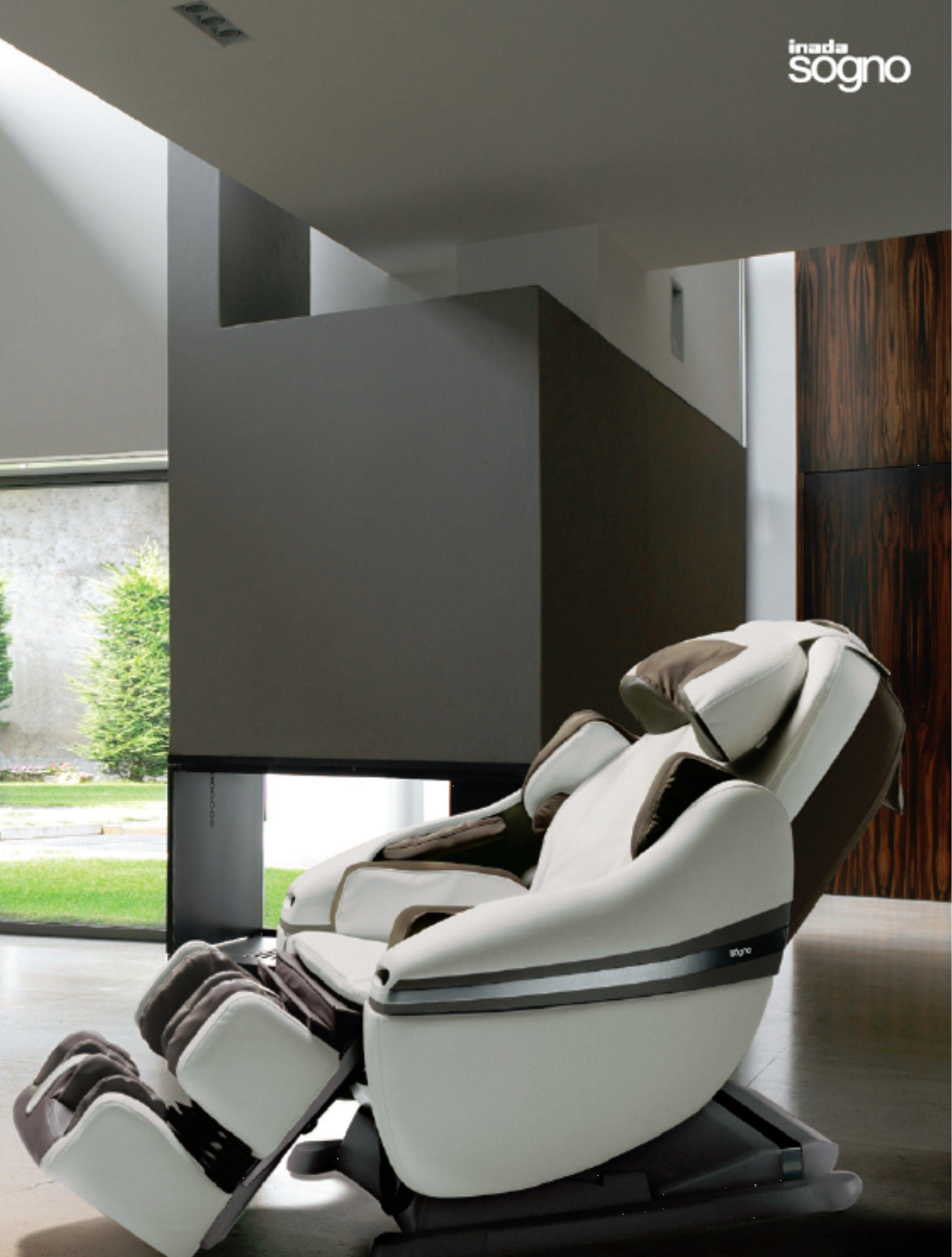 Inada DreamWave Massage Chair neck and shoulder air massage
