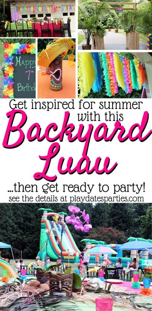 25 Luau Party Ideas to Steal from a Professional Event