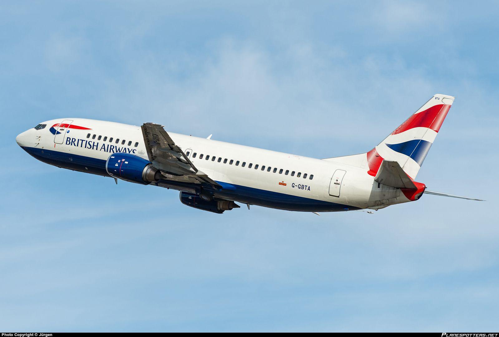 G-GBTA British Airways Boeing 737-400