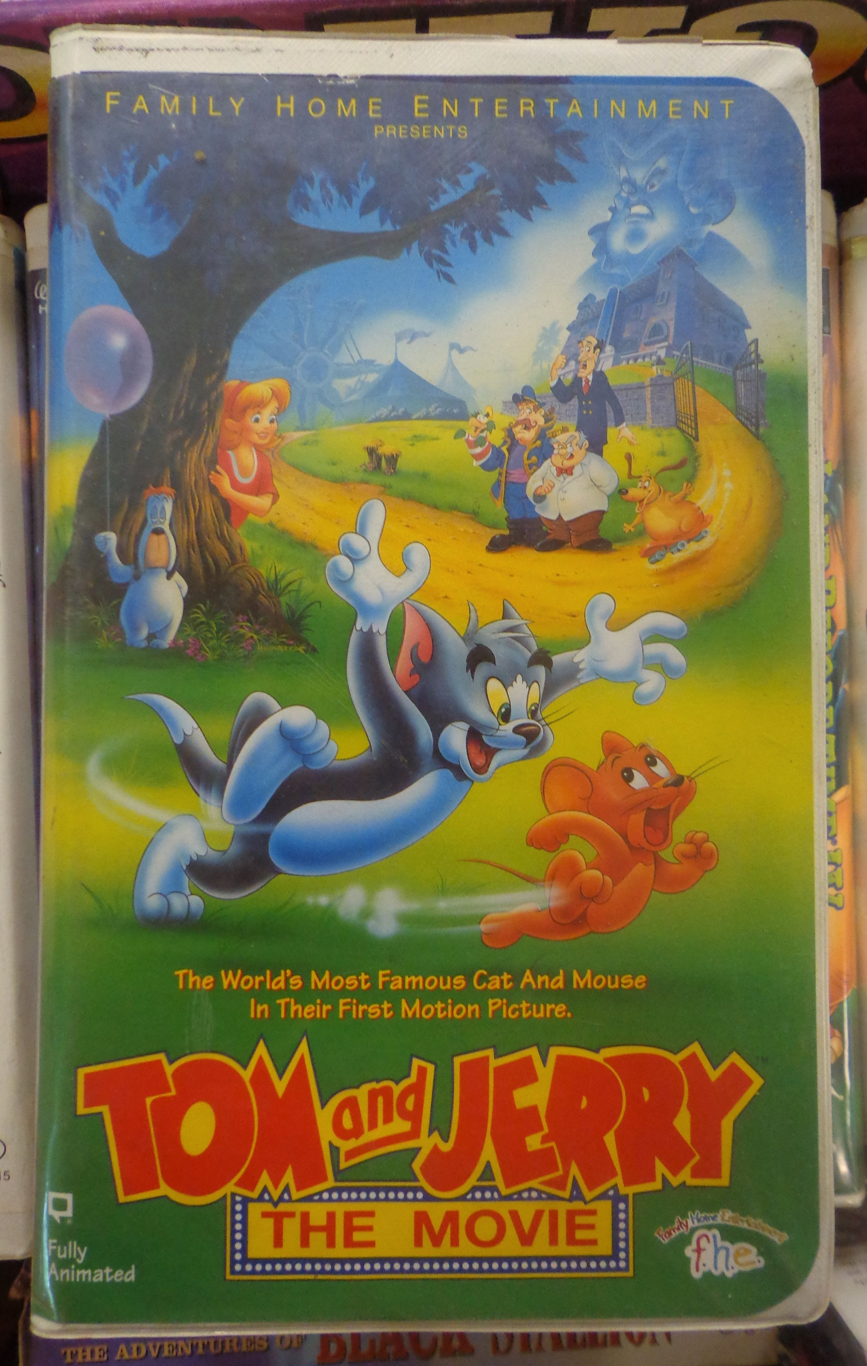 All Sizes Tom And Jerry The Movie 1993 Vhs Family Home Entertainment Flickr Photo Sharing Tom And Jerry Movies Tom And Jerry Movie Posters