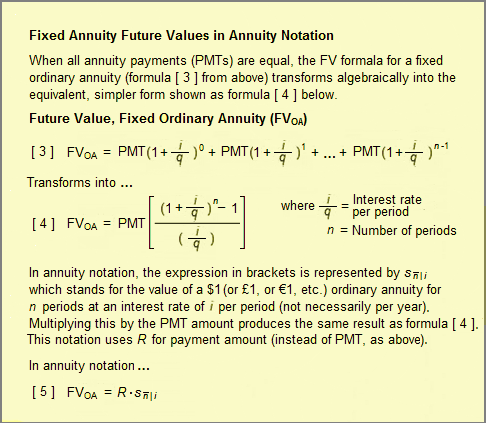 Annuity Fixed Variable Defined Explained Calculated Examples
