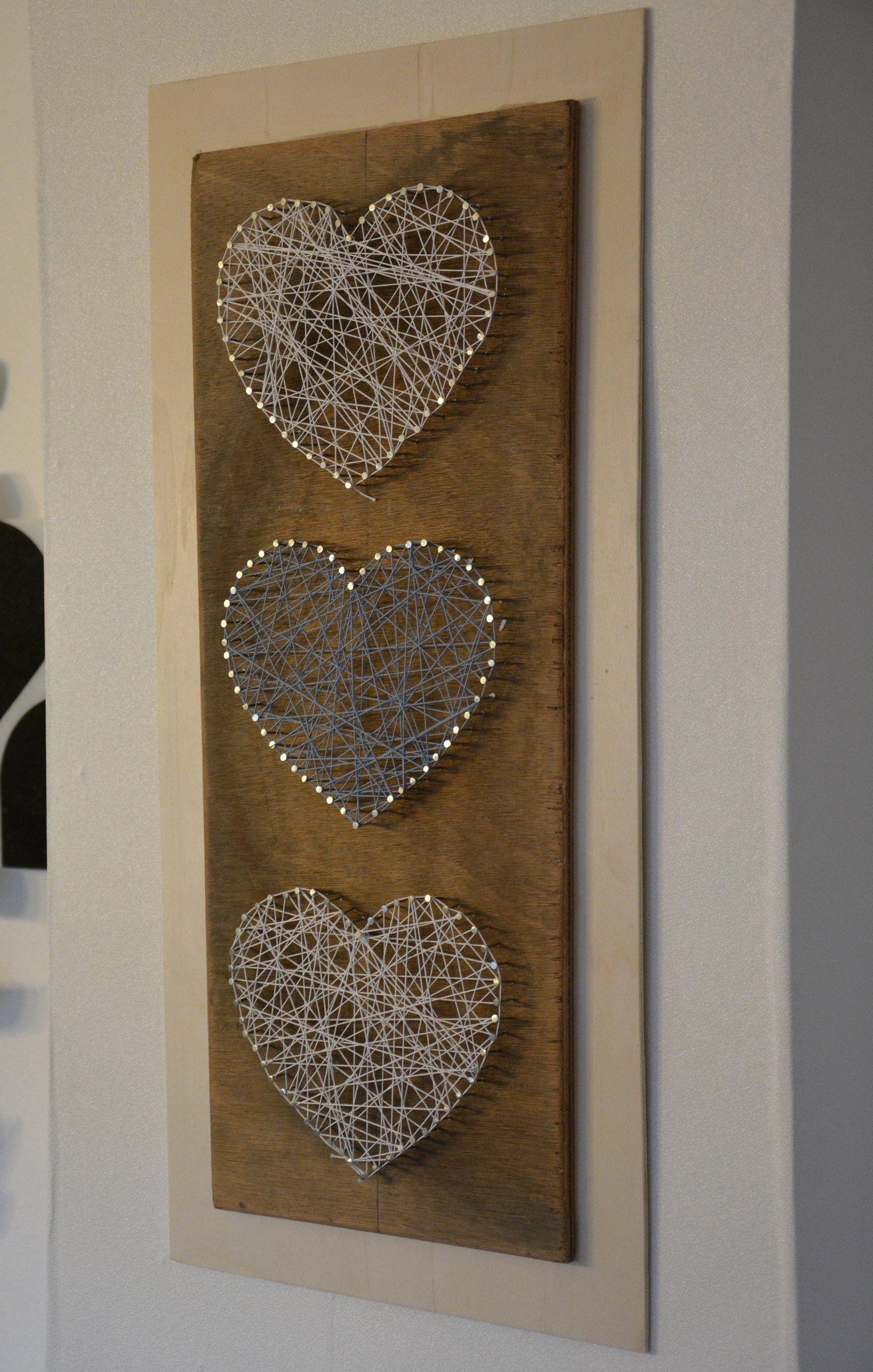String-Art Herzen