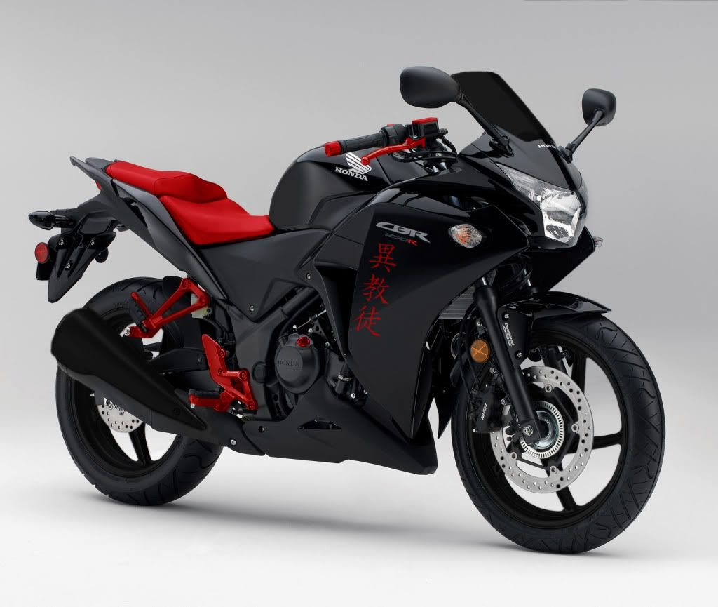 Cbr 250r Just Ordered Black Honda Cbr250r Forum