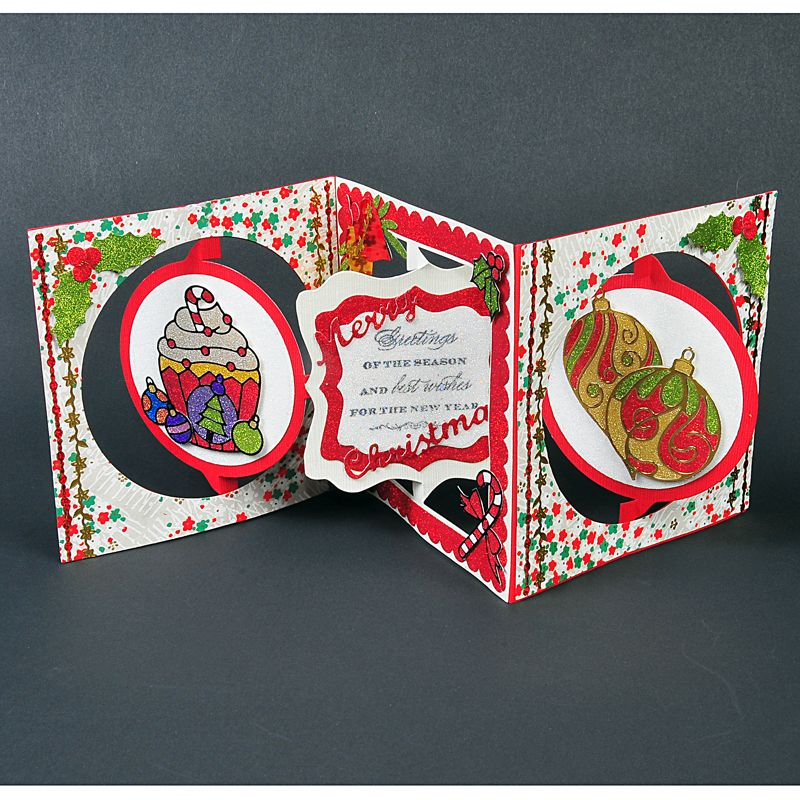 Accordion christmas cards google search scan n cut pinterest accordion christmas cards google search scan n cut christmas cards christmas greetings cards m4hsunfo