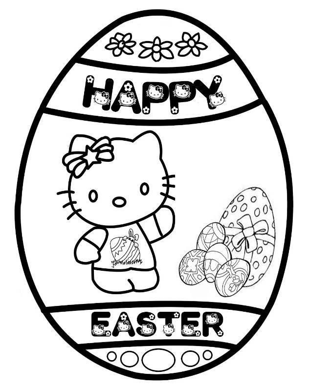 Free Printable Easter Egg Coloring Pages For Kids | Hello ...