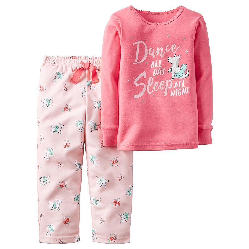 544f0e170 Girls 4-14 Carter s Graphic Pajama Set