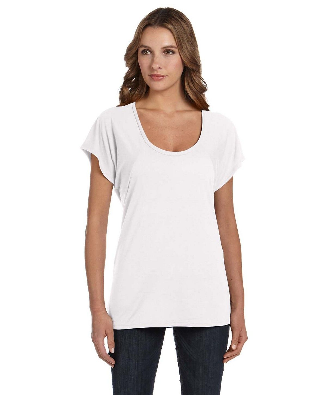 bd55e3753 Bella + Canvas B8801 3.7 oz. Ladies Melody Flowy T-Shirt | Cricut ...