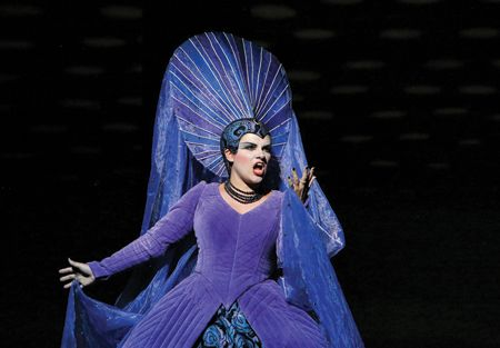 Opera singer goes from Mozart to her dream role with Charlotte performance of Lucia di Lammermoor.