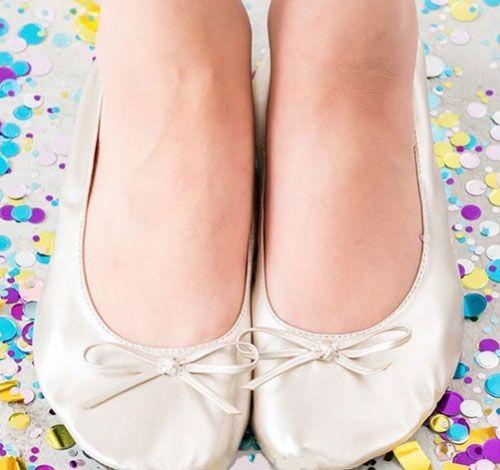 Foldable Flats Pocket Shoes $14.98