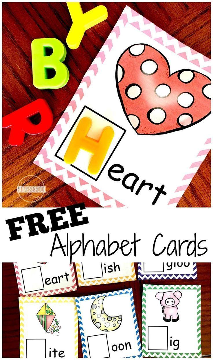 FREE Letter Sounds Alphabet Cards | Alphabet und Kind