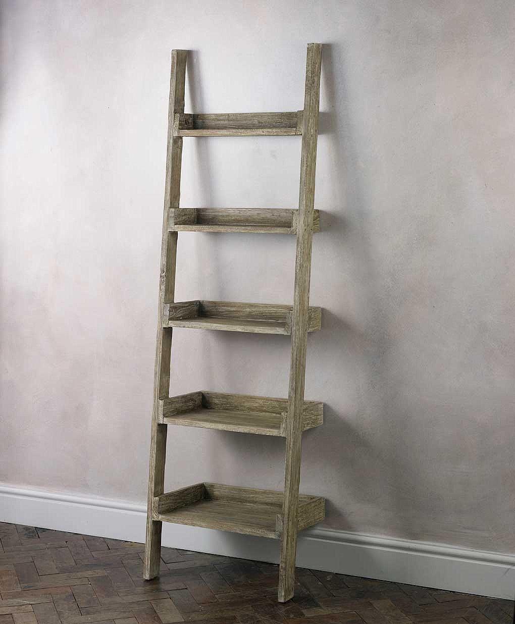 Finn ladder bookcase small pinterest ladder shelving unit