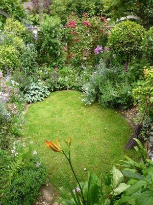 sunken garden by cristina