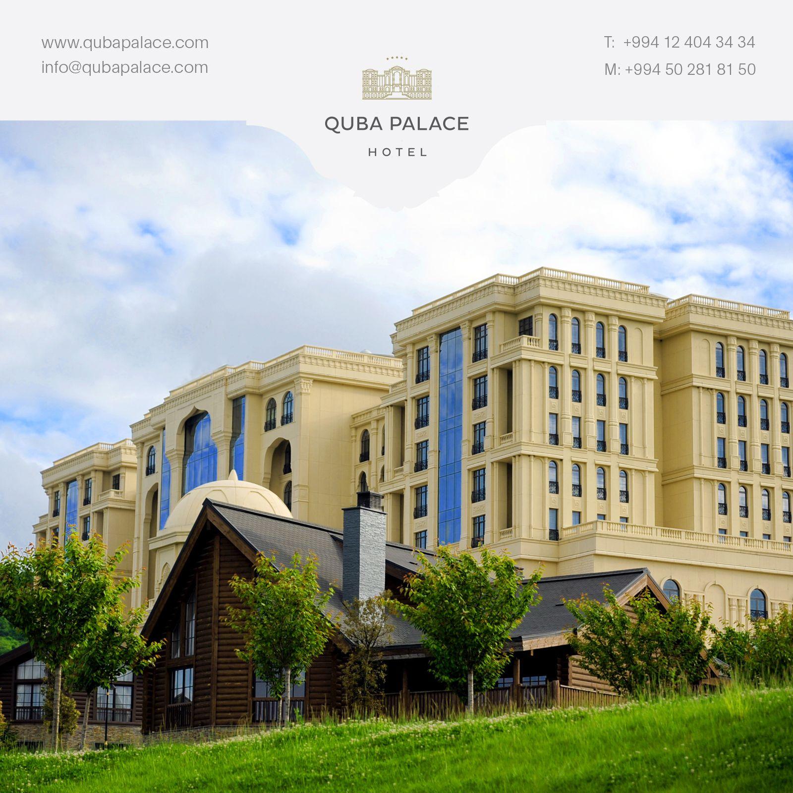 Daglarin Arasinda Mesələrin əhatəsində Yerləsən Quba Palace Hoteli Yuksək Keyfiyyətli Xidməti Ilə Daim Secilir Bunu Biz Yo Palace Hotel House Styles Mansions