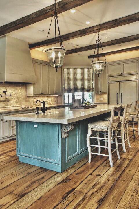 Rustic chic kitchen