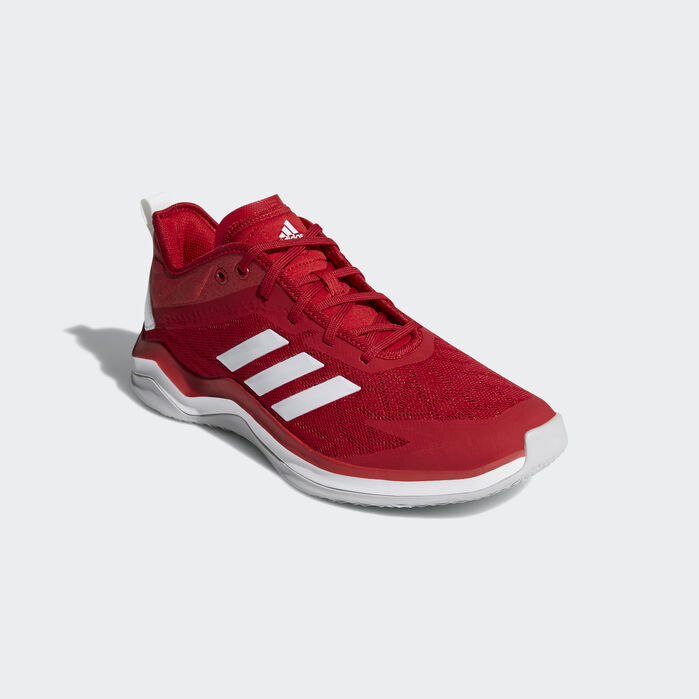 Shop adidas Athletics Trainer Shoe Online Red : Casual