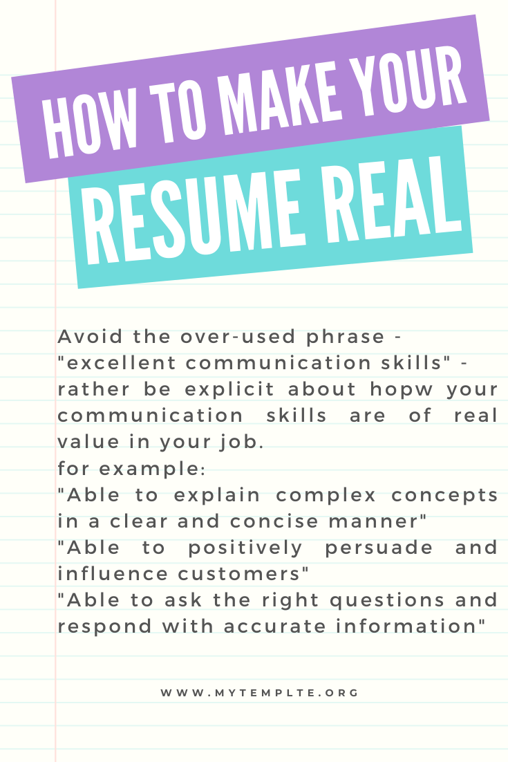 Use the exact resume keywords to get your resume noticed