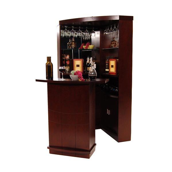Estella Complete Corner Bar, Corner Bar Furniture