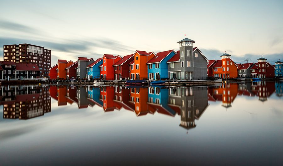 500px / Photo Reitdiephaven Groningen by Rayon Hoepel