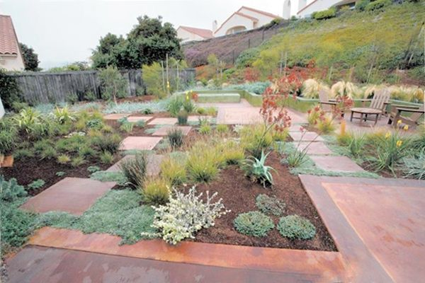 Garden Ideas To Replace Grass lawn replacements and tips for landscaping without grass: allergy