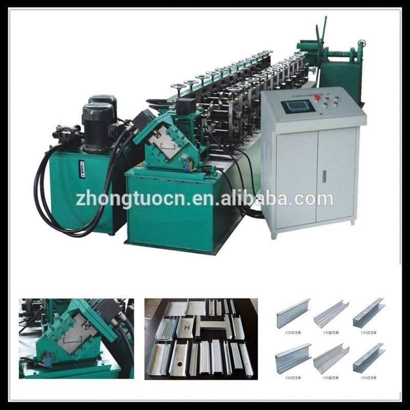 Zhongtuo Drywall Stud Máquina Formadora De Rollos - Buy Product on ...