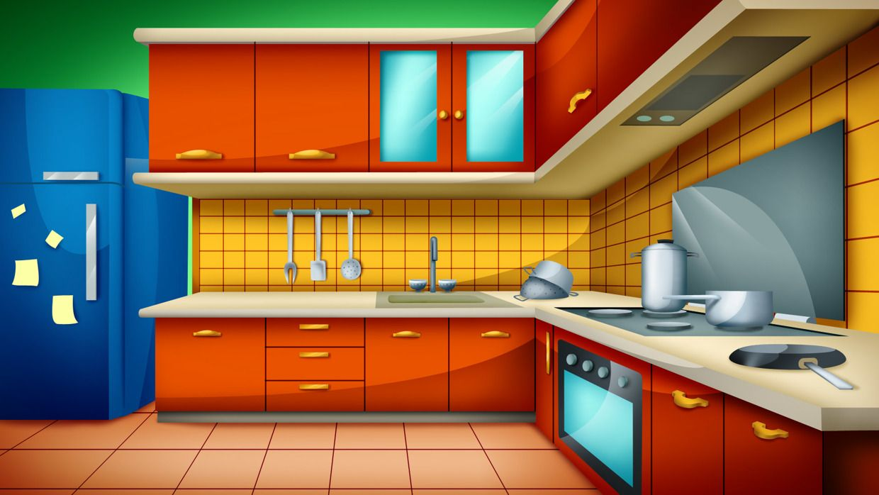 Radio Crockn Dolls Backgrounds House In 2019 Animation