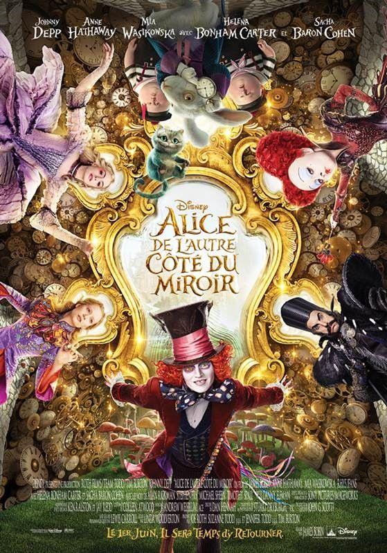 Alice au Pays des Merveilles : De l'Autre Côté du Miroir réalisé par James Bobin.