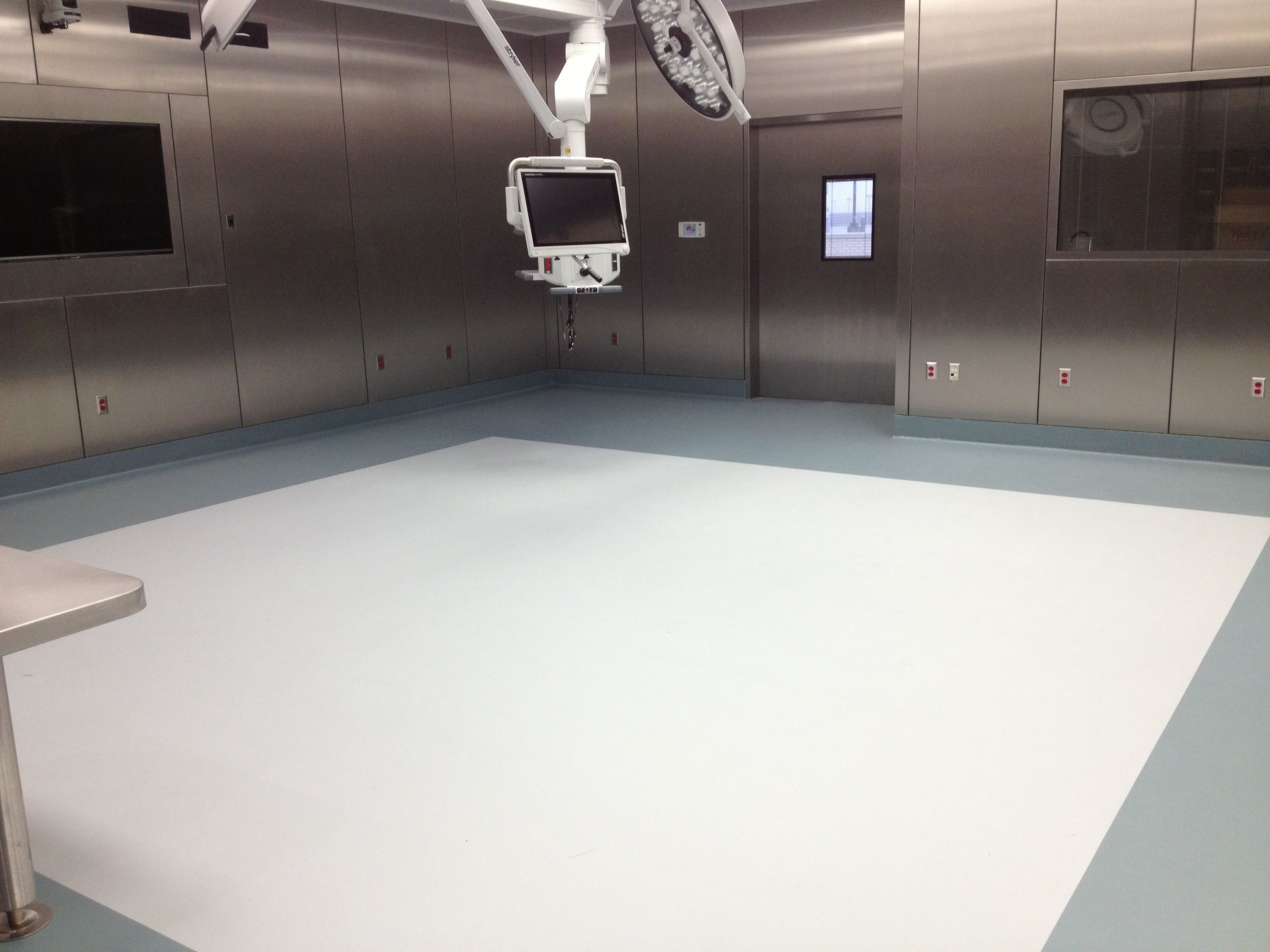 Stonhardu0027s Seamless Flooring Systems Are Ideal For Sterile Fields,  Especially Hospital ORu0027s