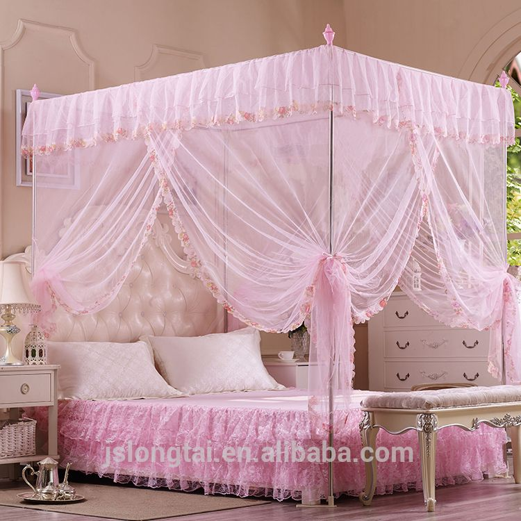 King size Double size Queen bed tent mosquito net cover : bed tent queen - memphite.com
