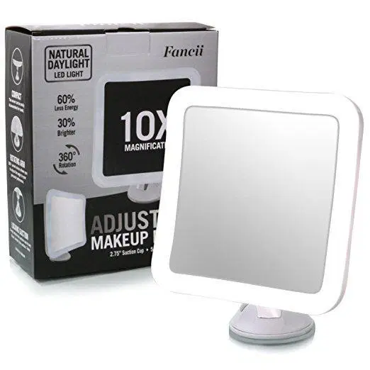Fancii 10X Magnifying Lighted Makeup Mirror Best Offer