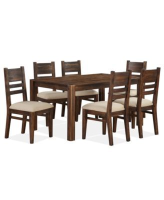 Avondale 7 Pc Dining Room Set Table 6 Side Chairs