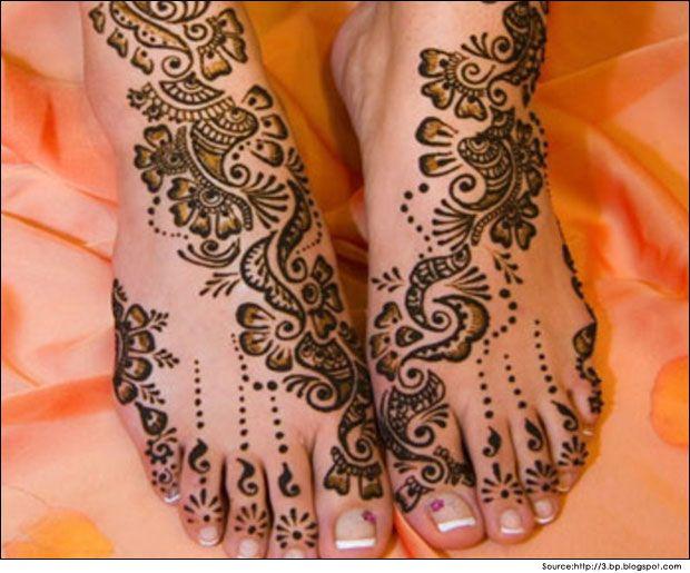 Feet Mehndi Designs Photos : Arabic mehndi designs for feet #mehndi #mehndidesigns #mehandi