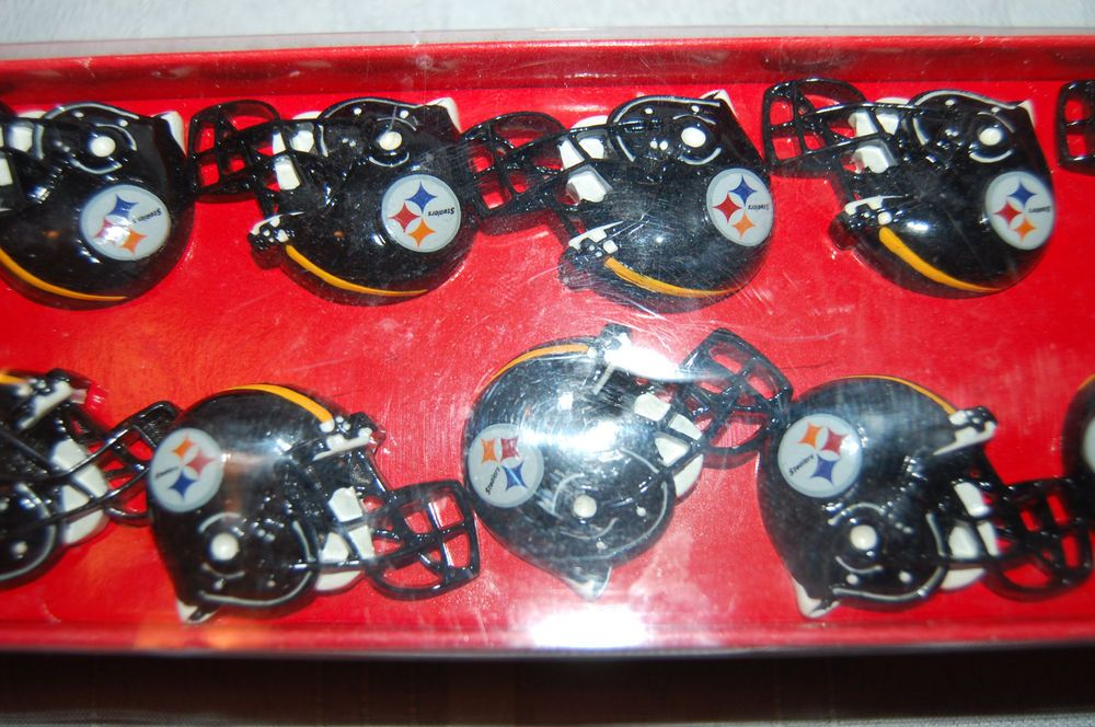 Pittsburgh Steelers Shower Curtain Rings Hooks Nfl Set Of 12 New In Box Jayfranco Steelers Shower Curtain Rings