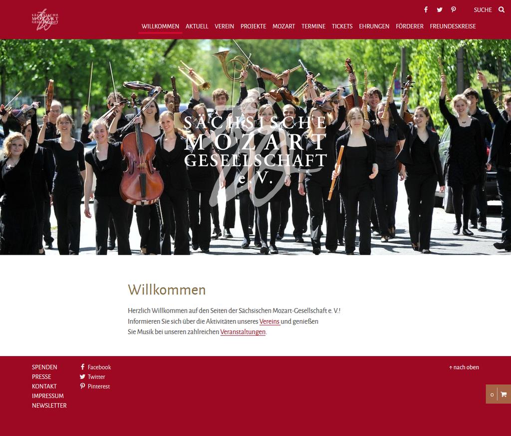 Unsere neue Website ist online! Entdecken Sie die Aktivitäten und Veranstaltungen der Sächsischen Mozart-Gesellschaft e. V.