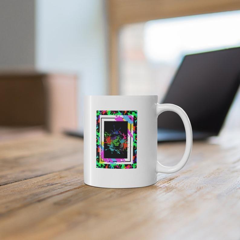 Lion Portrait Mug Lion Mug Coffee Mug One Of A Kind Design Etsy In 2021 Mugs Coffee Mugs Coffee