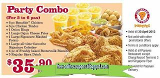 image regarding Popeyes Application Printable named Free of charge Printable Popeyes Bird Coupon codes Cost-free Printable