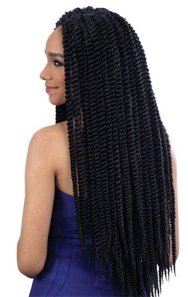 Shake N Go Que Crochet Braid 2x Jumbo Senegal Twist 10 Inch