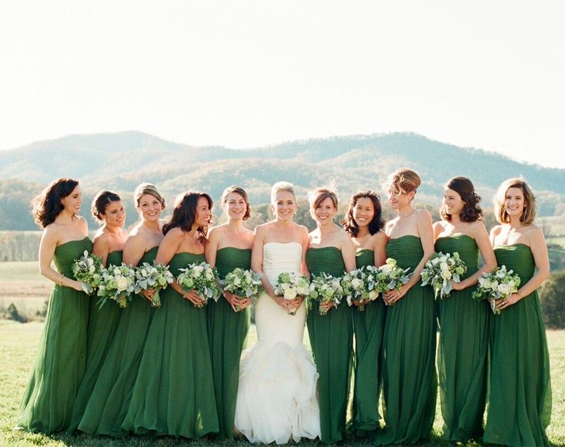 Vows On The Veranda Pippin Hill Green Bridesmaid Bridesmaid Green Bridesmaid Dresses