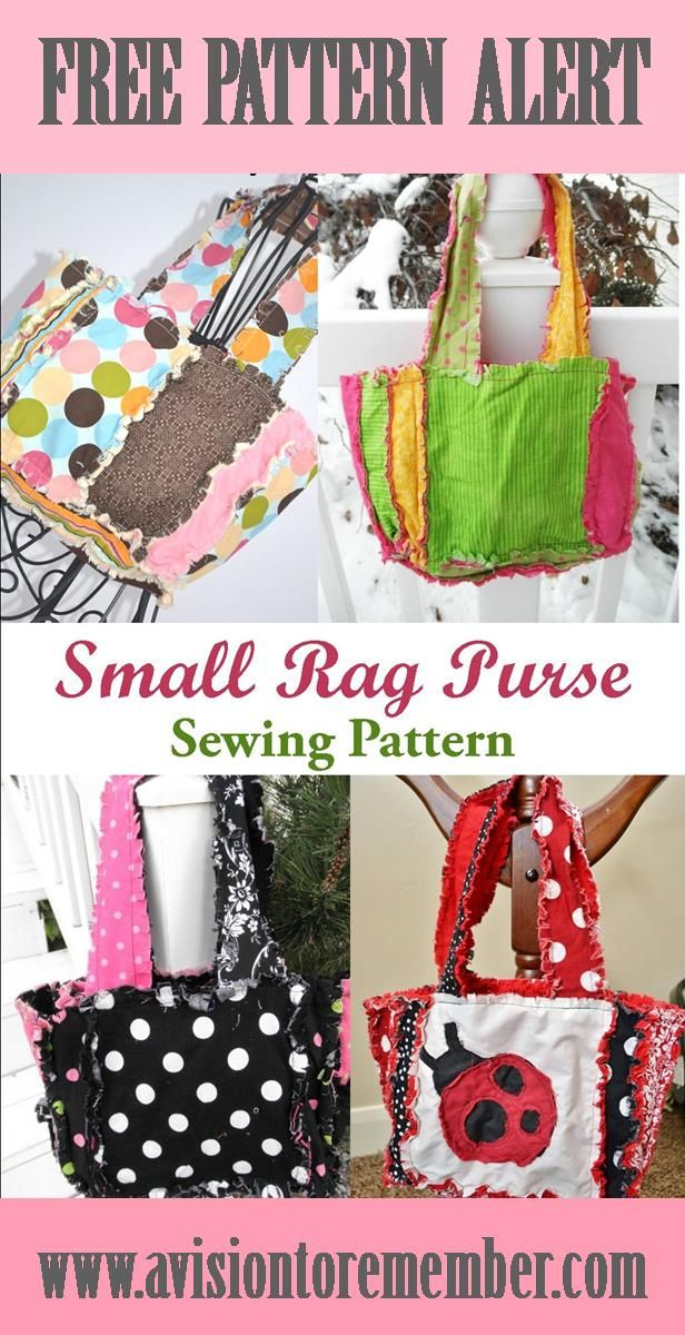 Free Pattern Rag Quilt Scripture Tote For Baptism Gifts Craft
