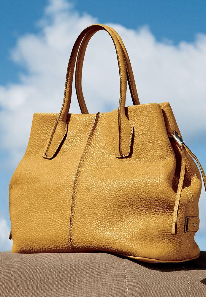 Tods Bag Fashion Bags Handbags Yellow Handbag