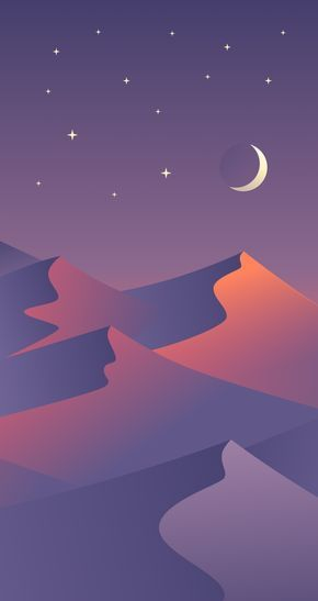 Free MultiDevice Desert Dusk Wallpapers Minimalist