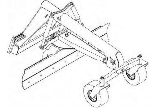 Bobcat Grader 84 Service Repair Manual S/N 648000101 And