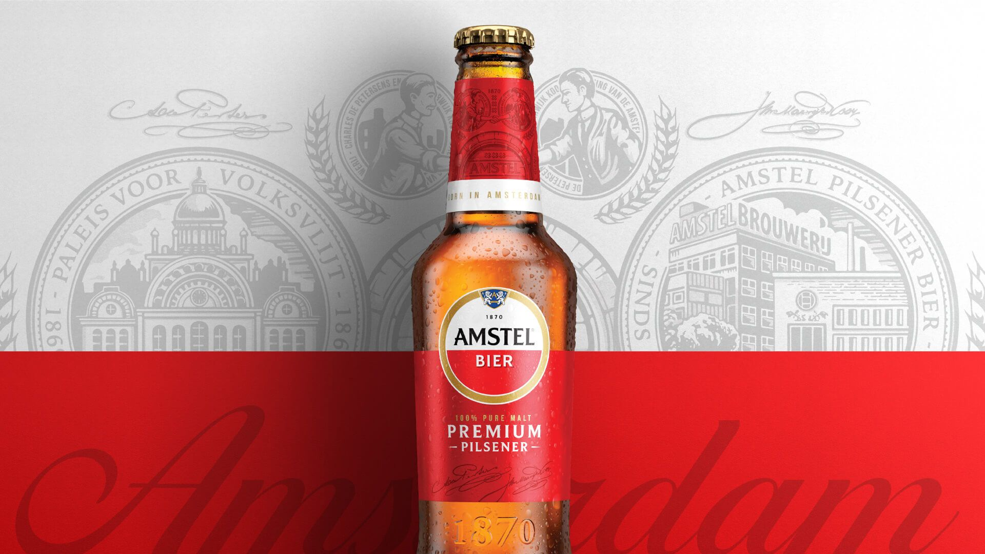 Brand New New Logo And Packaging For Amstel By Elmwood In 2020 Craft Beer Brands Brand Identity Branding Design