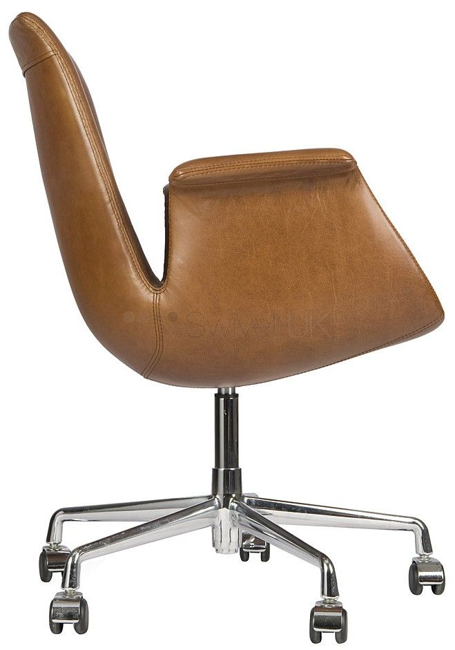 FK Lounge Chair: Walter Knoll Designer FK Lounge Chair  SwivelUK.com