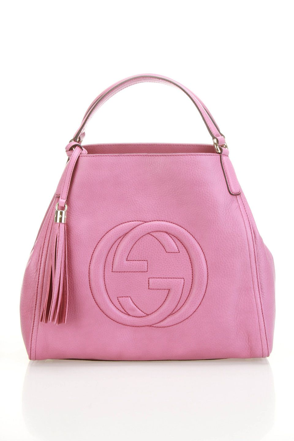 7ead9212a7a Gucci Soho Shoulder Bag In Freesia Rose