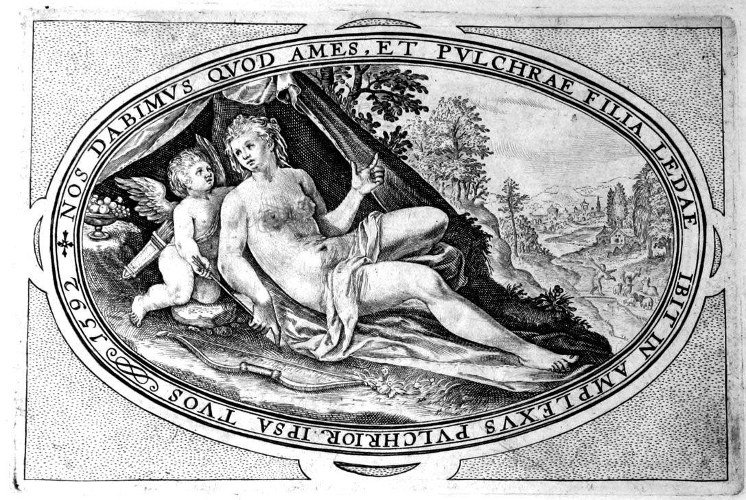 Collectie flora en fauna (1592) VINTAGE BOOK ILLUSTRATION; PUBLIC DOMAIN