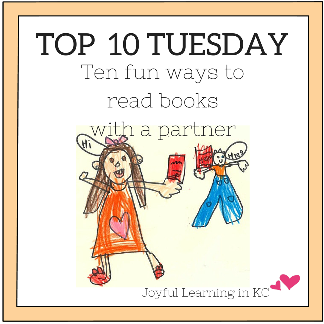 Ten Fun Ways To Read Books With A Partner